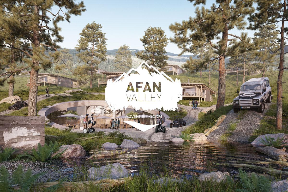 Afan Valley Adventure Resort Trails Zone