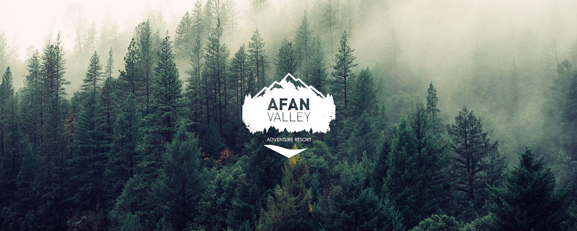 Afan Valley Adventure Resort forest