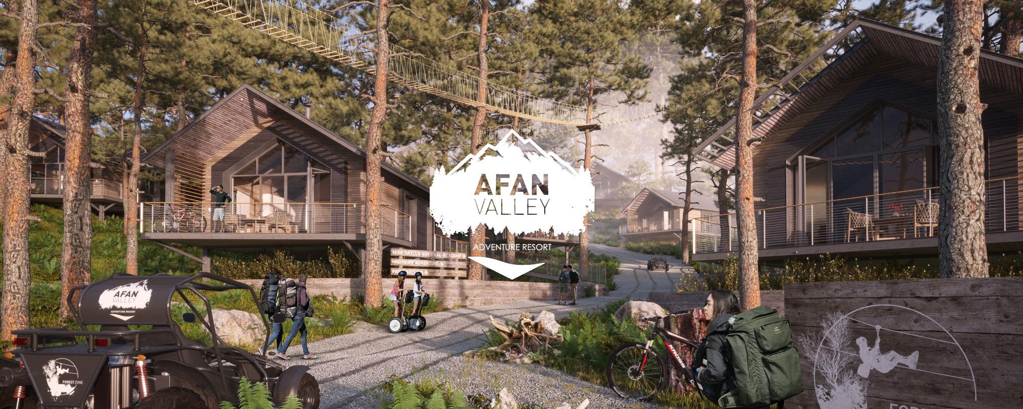 Afan Valley Adventure Resort Forest Zone
