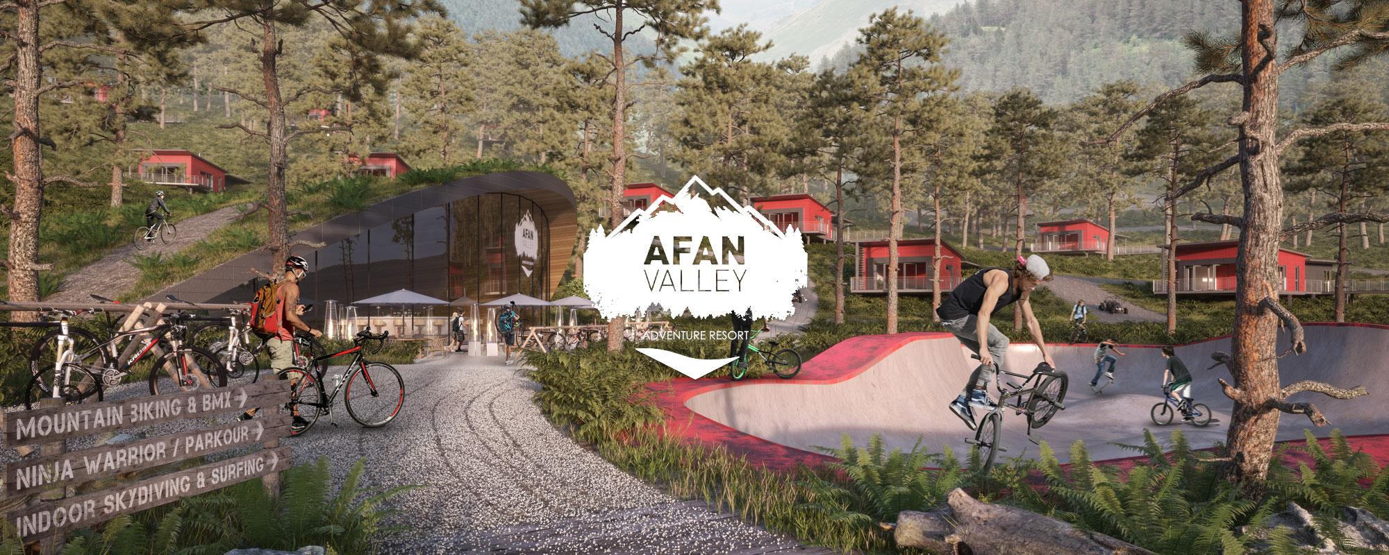 Afan Valley Adventure Resort Xtreme Zone