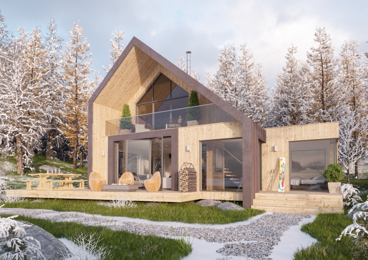 Afan Valley Luxury Ski Lodge Investment - Alpine Zone Lodge